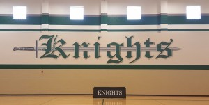 Secondary Gym Mural