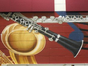 clarinet closeup